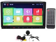 "Rockville RVDG7.0 7"" Car GPS Navigation/DVD/USB/Bluetooth/iPhone Player+Camera"