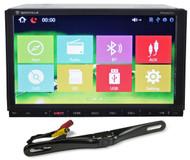 "Rockville RVDG7.0 7"" Navigation/DVD/USB/Bluetooth/iPhone+License Plate Camera"