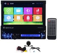 """Rockville RVDG7M 7"""" Car Navigation DVD Receiver iPhone, Bluetooth+Backup Camera"""