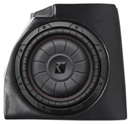 "10"" Kicker Subwoofer+Custom Center Console Enclosure For 97-06 Jeep Wrangler TJ"