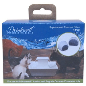 Drinkwell PAC00-13906 Avalon & Pagoda Charcoal Filters