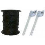 Heavy Duty Pet Fence Wire and Flag Kit 1000 Feet RFA-1000