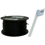 Heavy Duty Pet Fence Wire and Flag Kit 500 Feet RFA-500