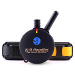 E-Collar K9 Handler 2 Dog 3/4 Mile Remote Dog Trainer on 24 in. Bungee Collars