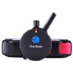 E-Collar K9 Handler 2 Dog 1 Mile Big Dog Remote Trainer on 24 in. Bungee Collars