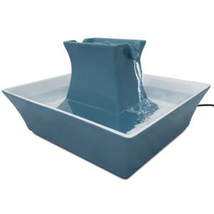 Drinkwell PWW00-14898 Blue Stoneware Pagoda Fountain
