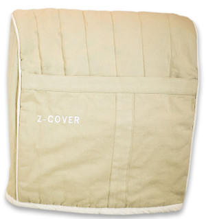Z-Cover Mixer Cover For Tilt-Head Stand, Artisan and Classic Mixers - Heavyweight 100% Cotton Cover - Khaki
