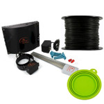 SportDog SDF-100A Underground Electric Dog Fence 14 Guage Wire + FREE Travel Bowl