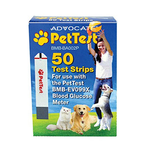 Advocate PetTest Test Strips 50 CT