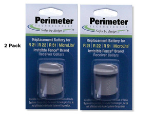 Perimeter Technologies Invisible Fence Collar Battery