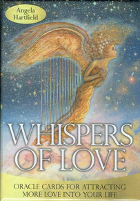 Whispers of Love Oracle Cards by Angela Hartfield (Sealed)
