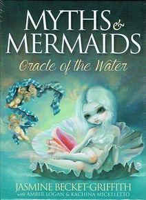 Myths & Mermaids Oracle of the Water Card Deck by Jasmine Becket-Griffith