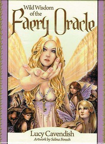 Wild Wisdom of the Faery Oracle Cards by Lucy Cavendish (Sealed)