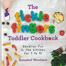 The Tickle Fingers Toddler Cookbook by Annabel Woolmer NEW Hardback
