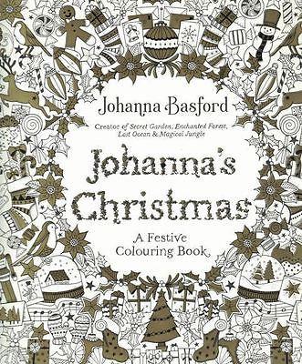 Johannas Christmas A Festive Colouring Book By Johanna Basford Image 1