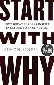 Start With Why by Simon Sinek NEW