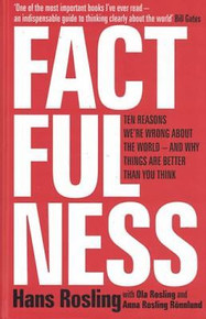 Factfulness by Hans Rosling (Hardback)