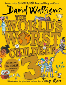 The World's Worst Children 3 by David Walliams (Hardback)