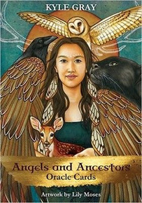 Angels & Ancestors Oracle Cards by Kyle Gray (Sealed)