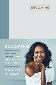 Becoming A Guided Journal For Discovering Your Voice by Michelle Obama NEW