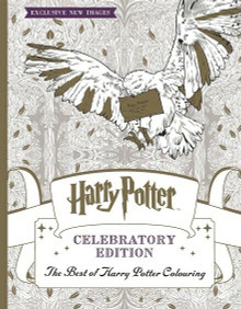 Harry Potter Colouring Book Celebratory Edition with Exclusive New Images