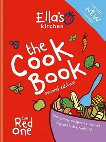 Ella's Kitchen The Cook Book second edition - The Red One (NEW Hardback)