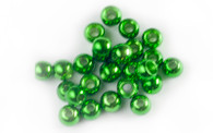 Brass Bead- Metallic Green