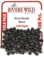 100 Pack- Black Brass