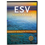Front view English Standard Version Bible - ESV Video Bible, Audio Bible and text together, voice only by David Heath