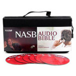New American Standard Audio Bible on audio CD by Stephen Johnston