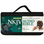 NKJV Audio Bible Complete on CD by Stephen Johnston, voice only