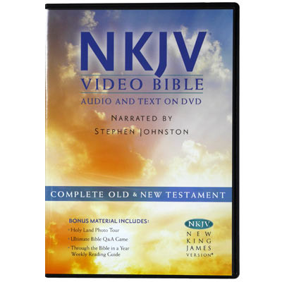 New King James Video Bible on DVD, NKJV Bible