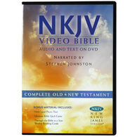 Front view - New King James Bible on DVD, Dramatized, Deluxe Edition