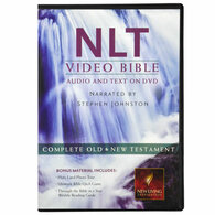 Front view - NLT New Living Translation on DVD, The Bible Video, Bible on DVD