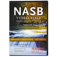 Front view - NASB Bible on DVD, Old and New Testament, Deluxe Edition