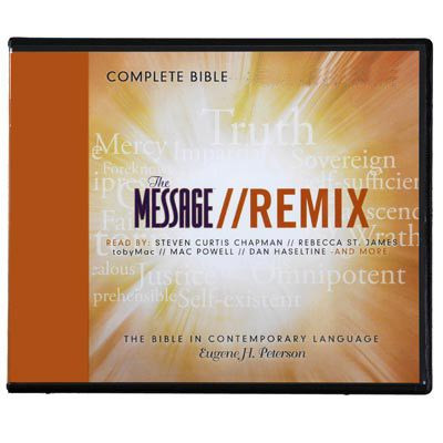 The Message Remix Audio Bible download for iPod & MP3