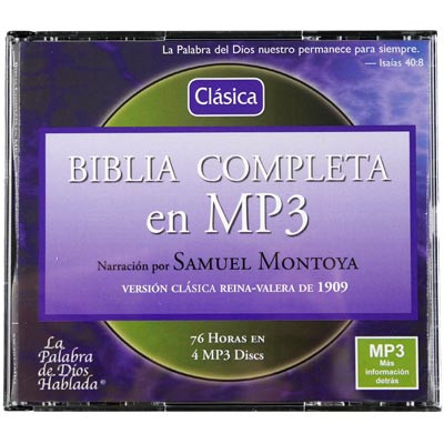 Spanish Reina Valera Bible Download Narrated by Samuel Montoya