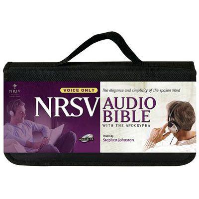 Front view - NRSV Audio Bible on CD with extra Apocrypha CDs