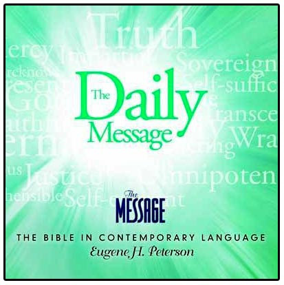 The Daily Message Download, Audio Bible in one year