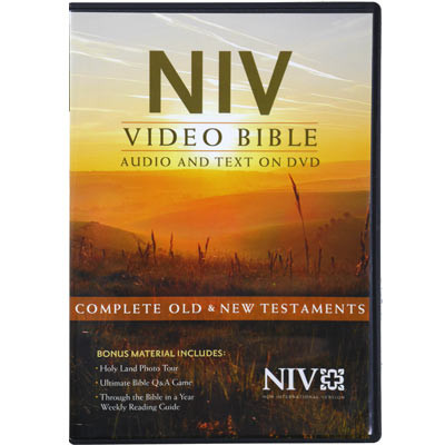 NIV Video Bible on DVD, dramatized version, Deluxe Edition