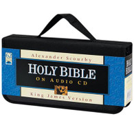 Front view - KJV Audio Bible Alexander Scourby on CD Voice Only