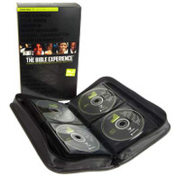Front view - Inside the case, The Bible Experience Audio Bible on CD, Audiobook Bible reading