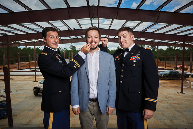 A special operations Captain, his wife, brother (an Army CPT as well) and a  civilian SCAD graduate founded Nine Line in ...