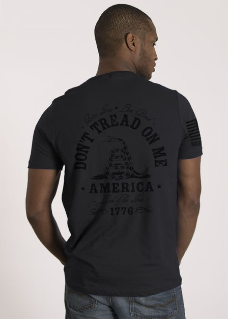 Men's T-Shirt - Don't Tread On Me Dark