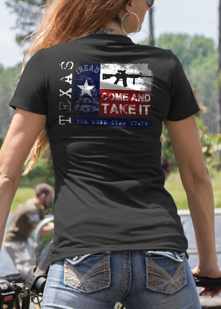 Womens Tee - Texas Come and Take It