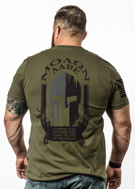 Molon Labe Spartan - Mens T-Shirt