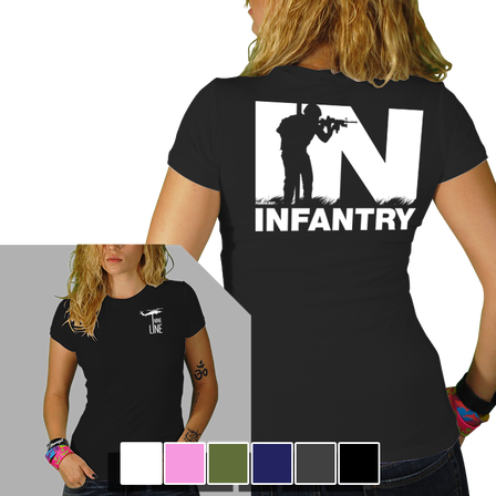 Womens Tee - Infantry