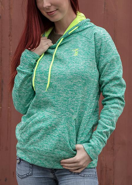 Ladies' Cosmic Contrast Pullover Hoodie