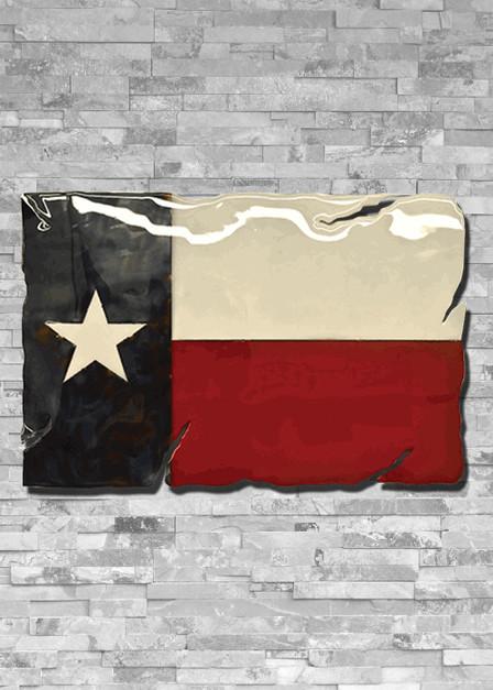 Molten Metal Sign - Texas