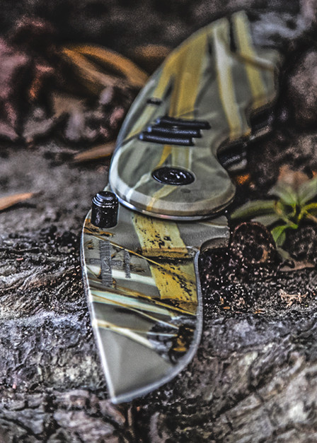 Nine Line Camo Knife
